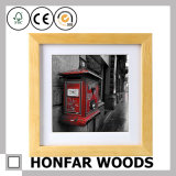 Gastfreundschaft-festes Holz-Abbildung-Foto-Rahmen für Hotel-Dekoration