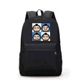 Saco de ombro quente do dobro da forma do saco do estudante do terreno da venda 2017