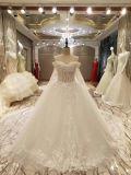 Princess с замужества плеча в Stock платьях венчания