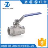 Berufszoll des ventil-1/2-2, Edelstahl-Spitzenverkaufs-Kugelventil