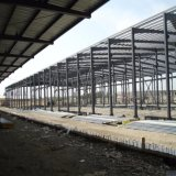 Pre costruire la costruzione della struttura d'acciaio per il gruppo di lavoro ed il magazzino della fabbrica