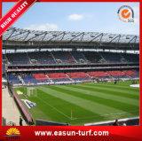 Alfombra sintetizada de la hierba del césped del balompié de Futsal para el fútbol