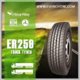 315/80r22.5 aller Gelände-Reifen-Schlussteil-Reifen-China-LKW-Radialreifen mit Garantiebedingung