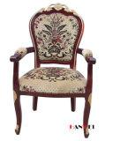 박달나무 나무로 되는 가구 팔걸이 의자