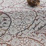 90% Nylon 10% Poly Jacquard Lace Fabric