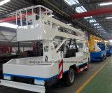 Carro de trabajo de la plataforma de la alta elevación de los 10m de las ruedas de Forland 4*2 6