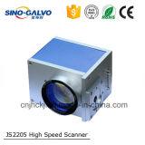 Alta eficacia Js2205 12 mm de apertura de haz láser Galvo escanear