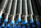 Tubo di aletta di alluminio, tubo di aletta dell'acciaio inossidabile/tubo alettato per lo scambiatore di calore, dispositivo di raffreddamento di aria, tubo alettato composito