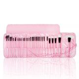 24 cepillos rosados del maquillaje del PCS