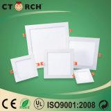 Ультратонких 18W квадратных скрытая светодиодная панель с CE/RoHS