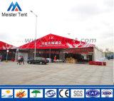 Grande tenda de exposições no exterior em PVC branco Marquee a tenda de eventos
