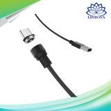 Тип заряжатель USB круглого магнитного кабеля мобильного телефона микро- c быстрый поручая на iPhone 7 6 6s плюс 5 5s Xiaomi Samsung Huawei Meizu