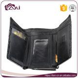 Малая кожа портмона, портмоне роскоши метки частного назначения RFID неподдельной кожи