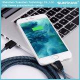 Cavo di carico del USB del cavo di dati di fabbricazione di alta qualità per il iPhone 5/6/7