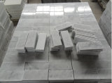 Prezzo poco costoso di marmo bianco caldo del materiale da costruzione di vendita 2017