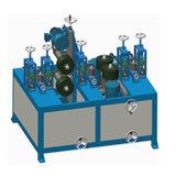 Máquina de polir com tubo quadrado de aço inoxidável de 12 cabeças