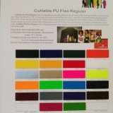 Cuttable Heat Transfer Vinyl PU Flex for Cutting