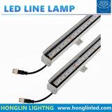 luz linear ao ar livre 10W 12W da barra do diodo emissor de luz do contorno SMD5050 de 1000mm