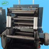 Máquina que raja de la cortadora de la maquinaria de papel automática el rebobinar