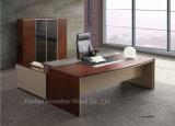 L Form-moderner hölzerner Möbel-leitende Stellung-Tisch (HF-SI003)