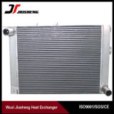 Échangeur de chaleur en aluminium brasé de compresseur d'ailette de plaque