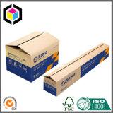 Rectángulo de empaquetado de papel resistente grande de la cartulina acanalada