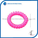 Transparente Plastic Colorful Confortable Hair Tie