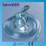 세륨 증명서를 가진 처분할 수 있는 의학 급료 PVC 산소 마스크
