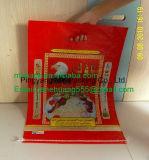 10kg умирают мешок риса PP смеси слоения ручки BOPP отрезока
