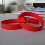 Form-Armband-Hersteller-Großverkauf-preiswertes kundenspezifisches Silikon-Armband