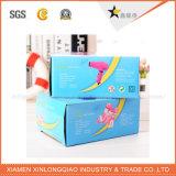 Luxe de Customzied/cadre de empaquetage polychrome d'écharpe de cadre de guichet de /UV/Stamping/Shipping/Gift/Packaging/Craft/Kraft/Recycled/PVC/palier d'étalage avec votre modèle