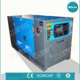 Генератор Cummins 450kw/625 kVA молчком тепловозный