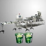 Relleno de la taza y máquina del lacre para el agua