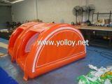 نفخ خيمة التخييم في الهواء الطلق لودج مع سرير