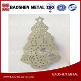 Home&Office&のクリスマスの松の木の装飾のための正確にTrulaserの切断のアクセサリ