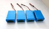 18650 paquet de batterie Li-ion de 7.4V 6600mAh pour la batterie de voiture de RC