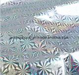 Clinquant d'estampage chaud métallisé par animal familier pour le plafond de PVC pour le marché de l'Inde