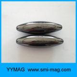 Magneti verde oliva di figura di rugby di ceramica magnetico del giocattolo