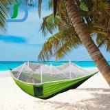 単一のよい残りの旅行のためのキャンプの蚊帳のハンモック