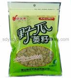 Sacchetto personalizzato di imballaggio pianamente di plastica dell'alimento di sigillamento 3-Side