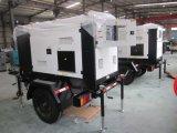 30kw de Diesel van de generatie Stilte van de Generator met de Aanhangwagen van 3 Wielen