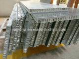 les panneaux composés de nid d'abeilles de pierre de granit de 7mm ont desserré avec les panneaux en aluminium de nid d'abeilles