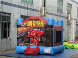 スパイダーマンの膨脹可能な跳ね上がりの家、販売のための安い警備員
