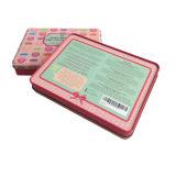 Innerer Kappen-Metallkosmetischer Kasten-verpackenzinn Contaier Großverkauf