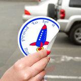 Sticker imperméable à l'épreuve de l'adhésif statique sur la fenêtre pendant plusieurs heures