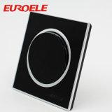 Zwarte Acryl250V/13A 146*86mm Tweepolige Muur Geschakelde Contactdoos