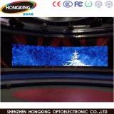 Étalage d'écran polychrome d'intérieur élevé de la courbe DEL d'Effcient