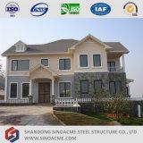 Maison urbaine légère préfabriquée de structure métallique