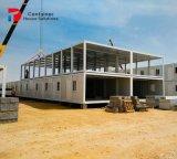 Huizen van de Container van de Geprefabriceerd huizen van lage Kosten de Modulaire