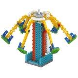 Fernsteuerungs-RC Blöcke des Block-1488712-Round des Installationssatz-stellten Ausbildungs-kreatives Spielzeug 63PCS ein